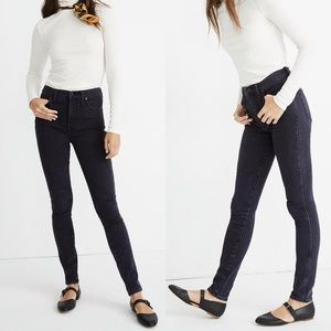 "Madewell 10"" Skinny Jeans in Eclipse Wash"